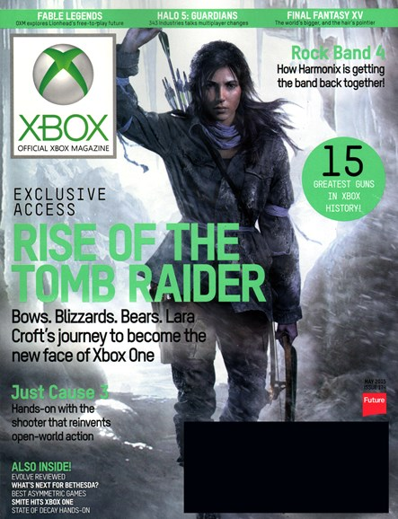 Official Xbox Magazine Cover - 5/1/2015