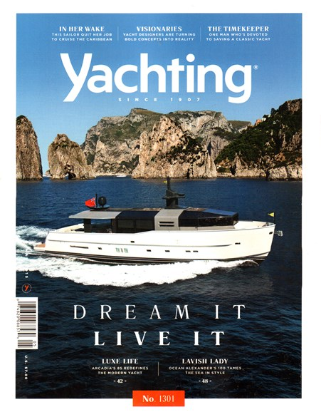 Yachting Cover - 5/1/2015
