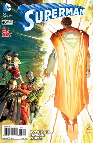 Superman Cover - 6/1/2015