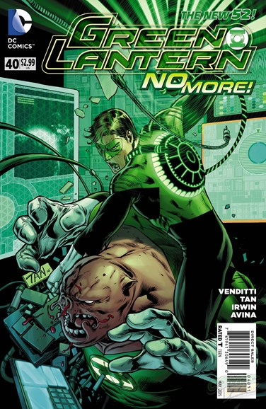 Green Lanterns Cover - 5/1/2015