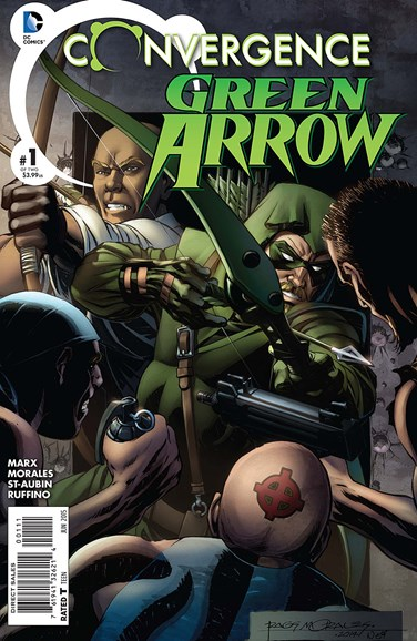 Green Arrow Cover - 6/1/2015