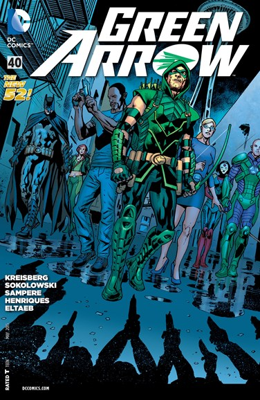 Green Arrow Cover - 5/1/2015