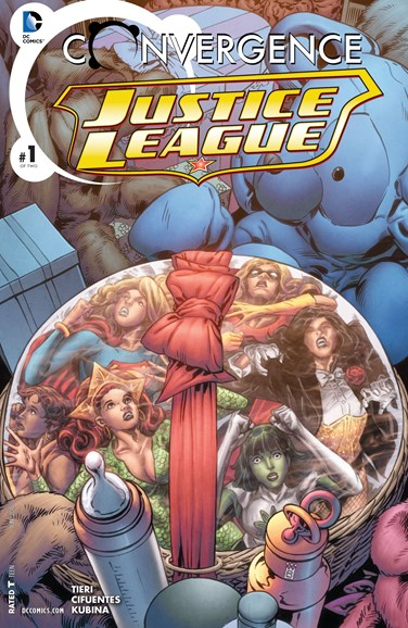 Justice League Cover - 6/1/2015