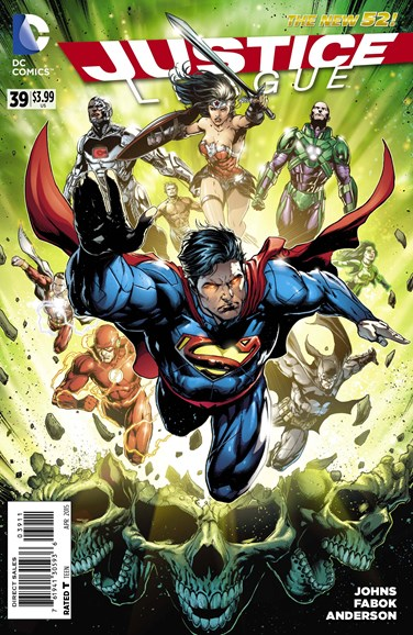Justice League Cover - 4/1/2015