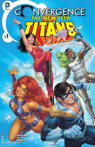 Teen Titans Cover - 6/1/2015