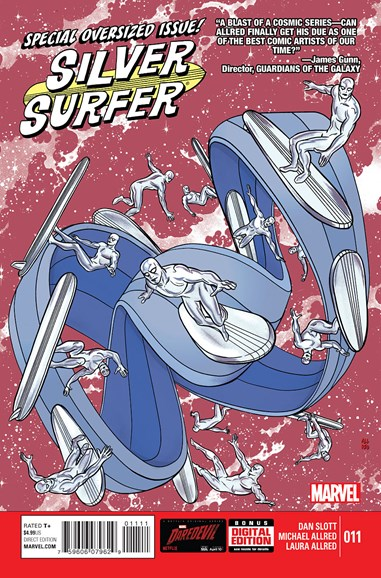 Silver Surfer Cover - 6/1/2015