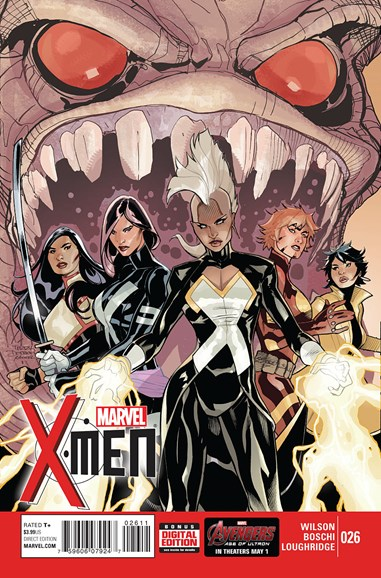 X-Men Gold Cover - 6/1/2015