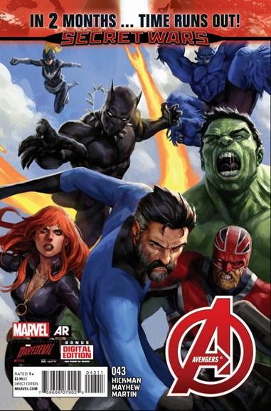 Avengers Cover - 6/1/2015