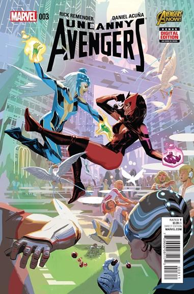 Uncanny Avengers Cover - 5/1/2015