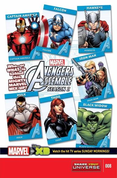 Marvel Universe Avengers Assemble Cover - 8/1/2015