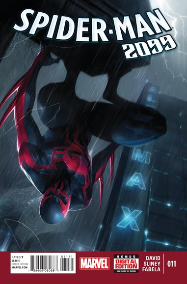 Spider-Man 2099 Cover - 6/1/2015