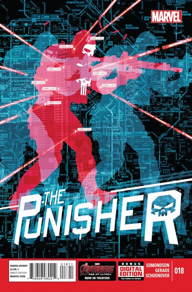 The Punisher Cover - 7/1/2015