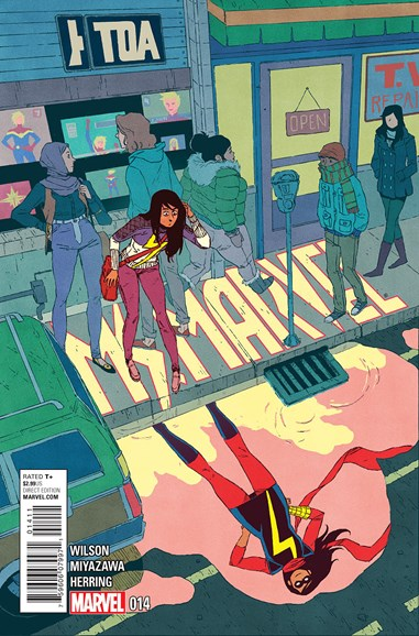 Magnificent Ms. Marvel Cover - 6/1/2015