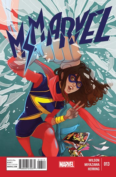 Magnificent Ms. Marvel Cover - 5/1/2015