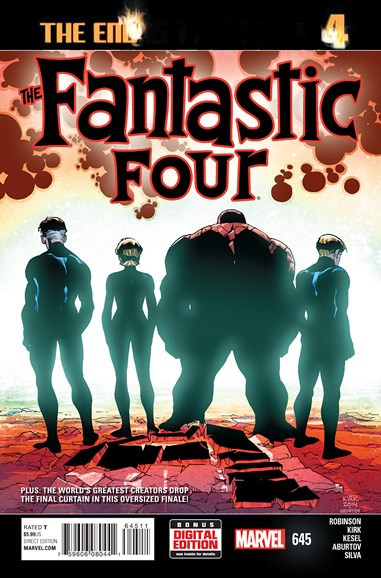 Fantastic Four Cover - 6/1/2015