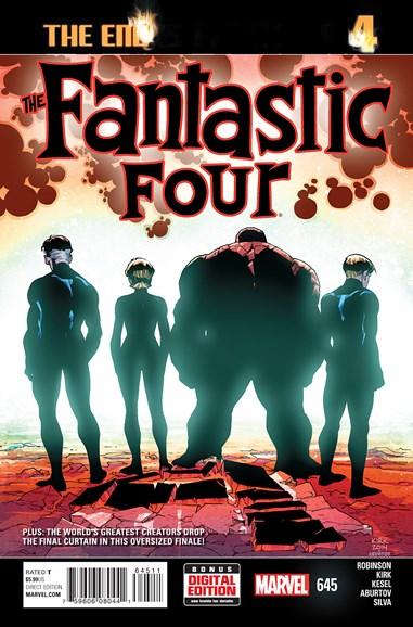 Fantastic Four Cover - 6/1/2015