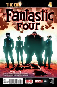 Fantastic Four Comic | 6/1/2015 Cover