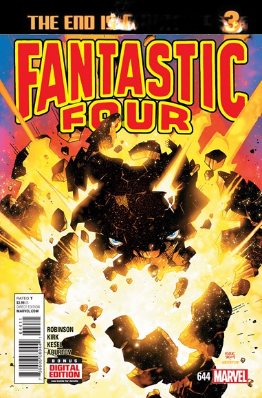 Fantastic Four Cover - 5/1/2015