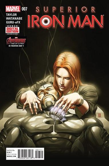 Tony Stark: Iron Man Cover - 6/1/2015