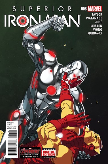 Tony Stark: Iron Man Cover - 6/15/2015