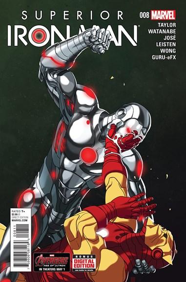 Tony Stark: Iron Man Cover - 6/15/2015
