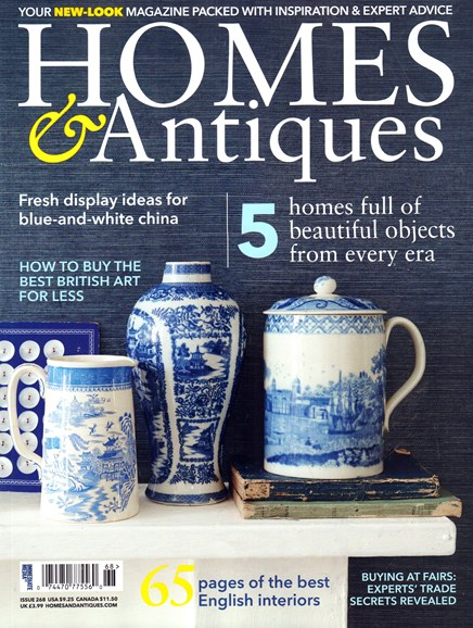 Homes & Antiques Cover - 5/1/2015