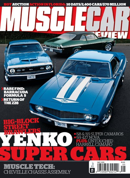 Muscle Car Review Cover - 5/1/2015