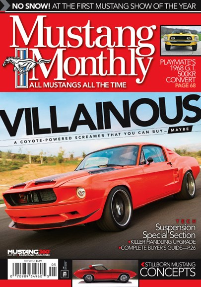 Mustang Monthly Cover - 5/1/2015
