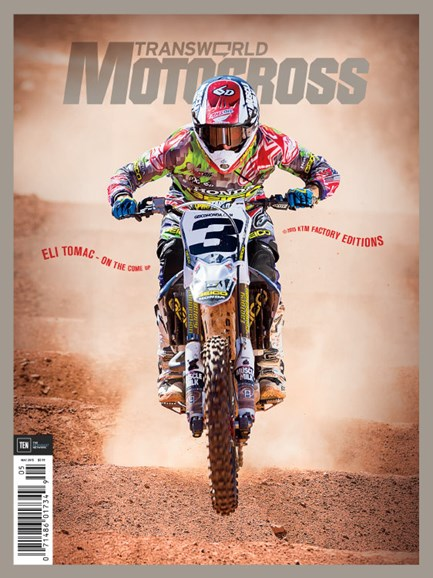 Transworld Motocross Cover - 5/1/2015