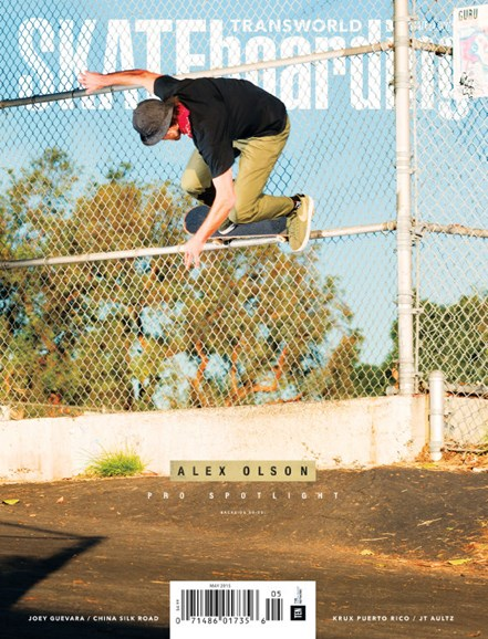Transworld SKATEboarding Cover - 5/1/2015