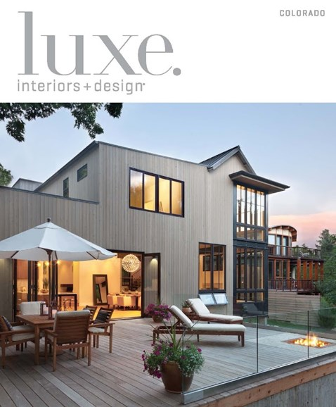 Luxe Interiors & Design Cover - 3/1/2015