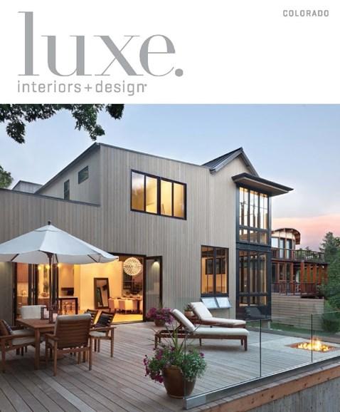Luxe Interiors & Design Cover - 3/1/2015