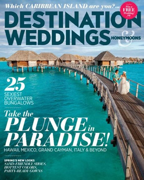 Destination Weddings & Honeymoons Cover - 3/1/2015