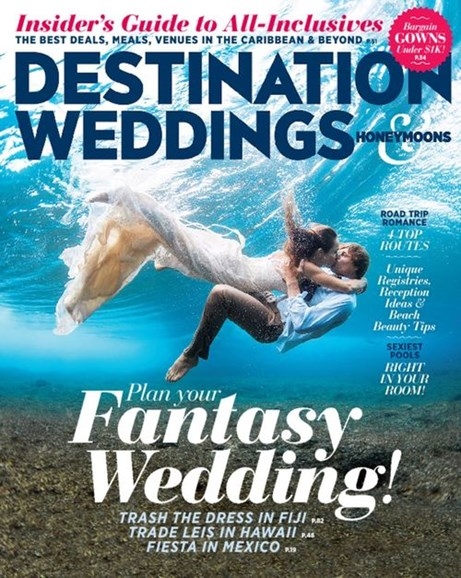 Destination Weddings & Honeymoons Cover - 5/1/2015