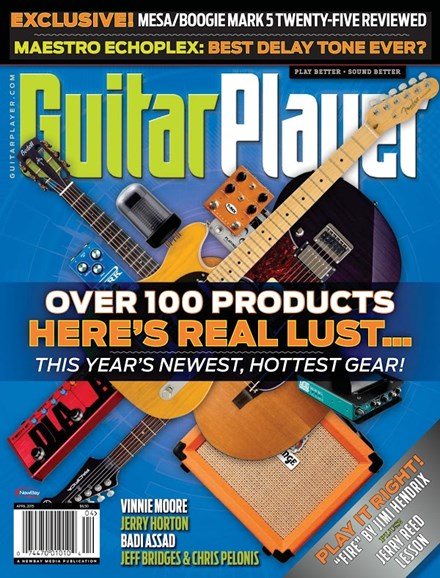 Guitar Player Cover - 4/1/2015