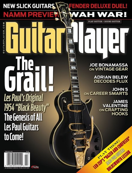 Guitar Player Cover - 2/1/2015