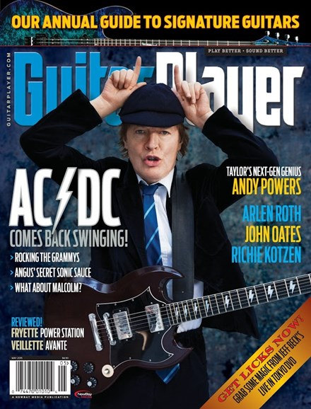 Guitar Player Cover - 5/1/2015