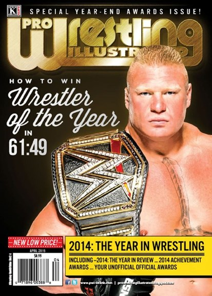 Pro Wrestling Illustrated Cover - 4/1/2015