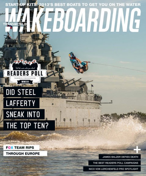 Wake Boarding Cover - 9/1/2013