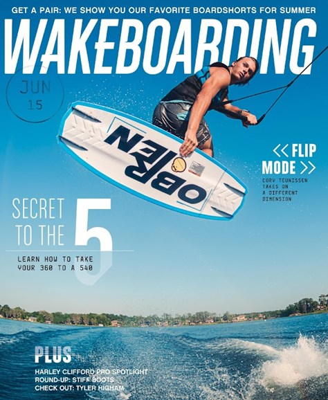 Wake Boarding Cover - 6/1/2015