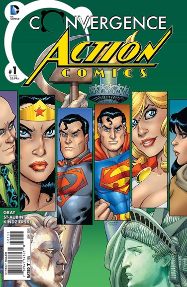 Action Comics Cover - 6/1/2015
