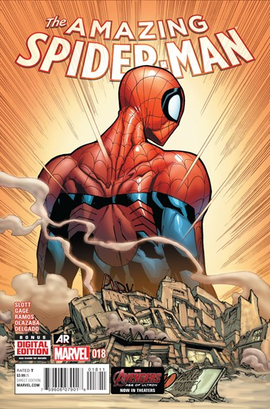Amazing Spider-Man Cover - 7/1/2015