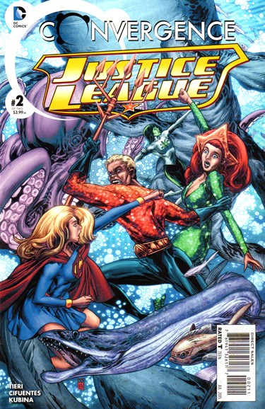 Justice League Cover - 7/1/2015