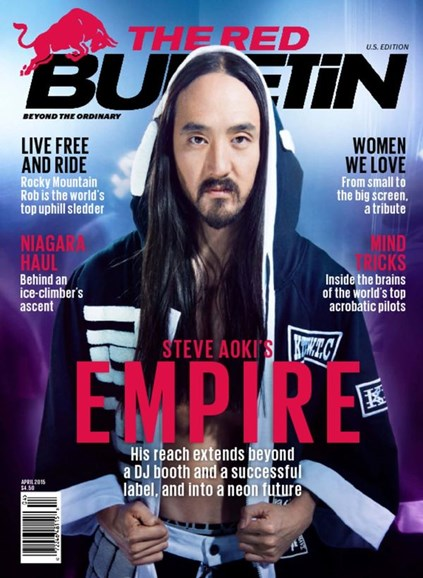 The Red Bulletin Cover - 4/1/2015