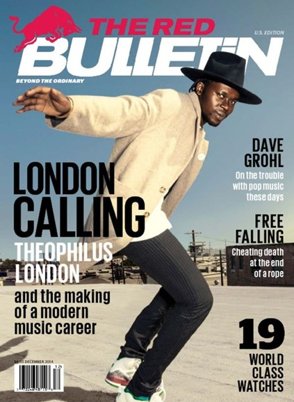 The Red Bulletin Cover - 12/1/2014
