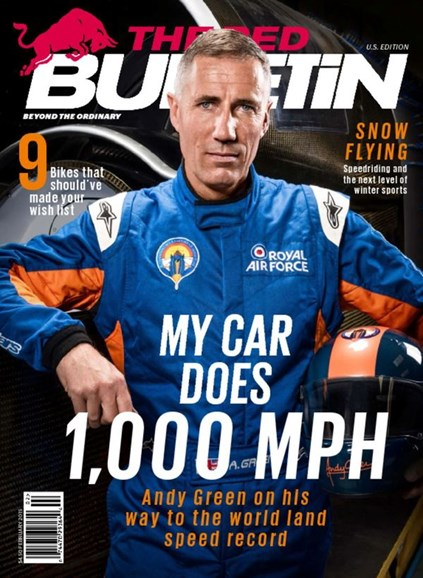 The Red Bulletin Cover - 2/1/2015