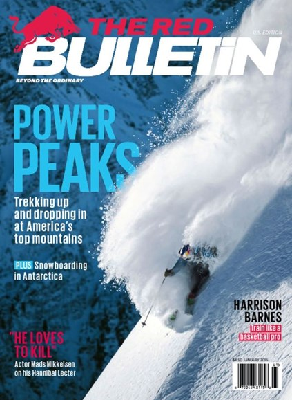 The Red Bulletin Cover - 1/1/2015