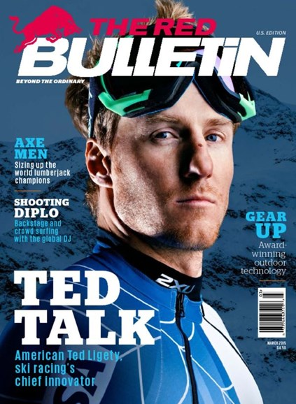 The Red Bulletin Cover - 3/1/2015