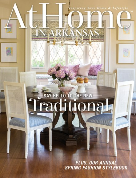 At Home In Arkansas Cover - 4/1/2015