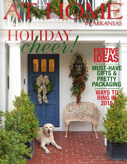 At Home In Arkansas Cover - 12/1/2014